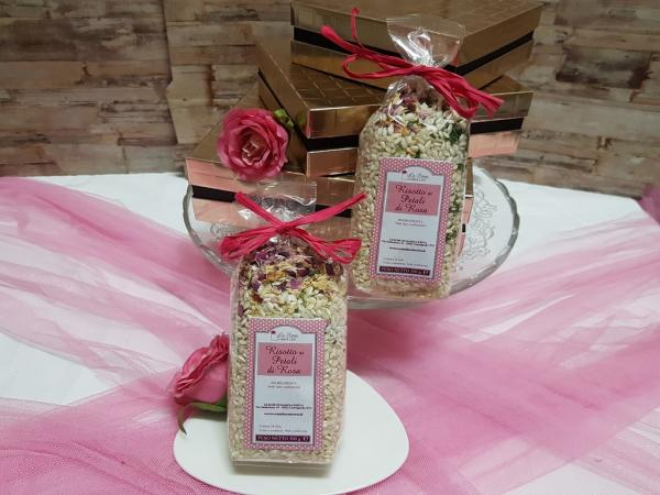 Carnaroli Rise with Rose petals 300g.