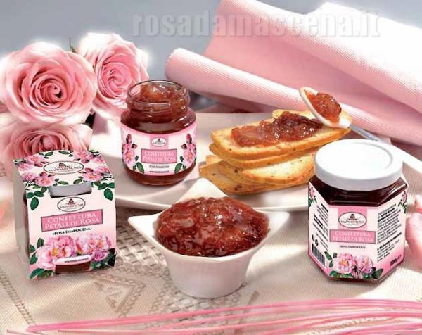 Rose Petals Jam 220g.